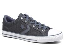 Star Player 3 Color Herringbone Ox Sneaker in grau