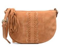 Japille Suede Crossbody Handtaschen für Taschen in braun