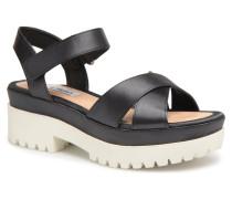 Fine Sandal Sandalen in schwarz