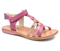 Strass Sandalen in rosa