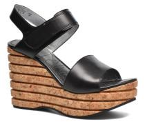 Eny 7 Sandal Velcro Sandalen in schwarz