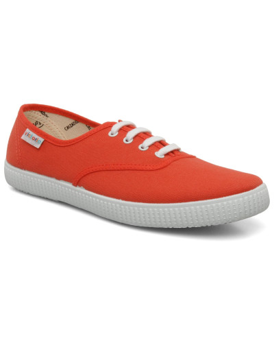 W Sneaker in orange