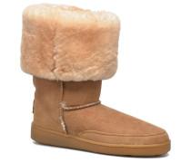 Tall Sheepskin Pug Boot W Stiefeletten & Boots in goldinbronze