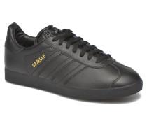 Gazelle W Sneaker in schwarz