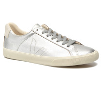 Esplar Leather Sneaker in silber