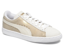 Wns Suede Sneaker in weiß