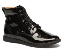 City Brogue Stiefeletten & Boots in schwarz