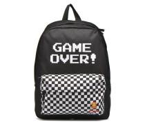 W NINTENDO BACKPACK Game Over Rucksäcke für Taschen in schwarz