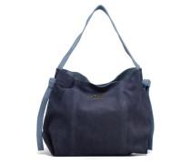 PAIGE Suede leather bag Handtaschen für Taschen in blau