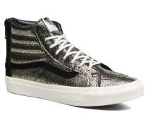 SK8Hi Slim Zip Sneaker in goldinbronze