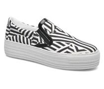 Kiss Slip On 741 Sneaker in schwarz
