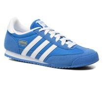 Dragon J Sneaker in blau