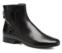 Mira Flat Bootie Stiefeletten & Boots in schwarz