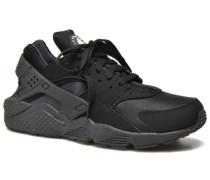 Air Huarache Sneaker in schwarz
