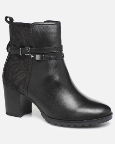 Samantha Stiefeletten & Boots in schwarz