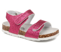 Bio Laminated Sandals Sandalen in rosa