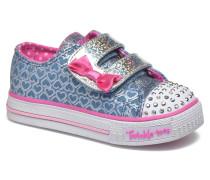 Shuffles Glitter Pop Sneaker in blau