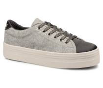 Plato Sneaker BeaminCotton Rib in grau