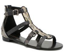 Plitz Sandalen in schwarz
