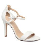 Astrid PU Heeled Sandal Sandalen in weiß