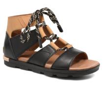 Torpeda lace II Sandalen in schwarz