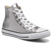 Chuck Taylor All Star Hi Metallics W Sneaker in silber