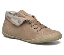 Gaetane Emb Sneaker in braun