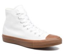 Chuck Taylor All Star II Hi Tencel Canvas Sneaker in weiß