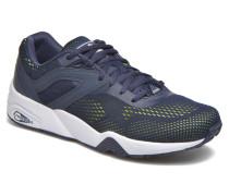 R698 Eng. Mesh Sneaker in blau