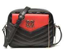 Quilted crossbody Flap clutch Handtaschen für Taschen in schwarz