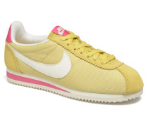 Wmns Classic Cortez Txt Sneaker in gelb