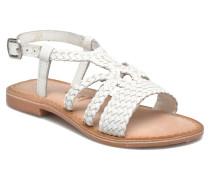 Jacinthe Sandalen in weiß