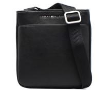 TH City mini flat Crossover Herrentaschen für Taschen in schwarz