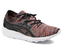 Gel Kayano Trainer Knit Sneaker in schwarz
