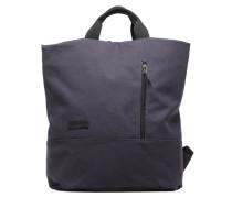 Roll Tote Backpack Rucksack in blau