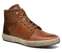 Benevento Fur Mid Men Sneaker in braun