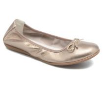 Giulia Ballerinas in beige