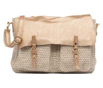 Maxi Maths Toile & Cuir Handtaschen für Taschen in beige