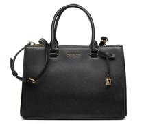 Sutton LG Gusset Satchel Handtaschen für Taschen in schwarz