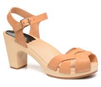 Kringlan Sandalen in beige