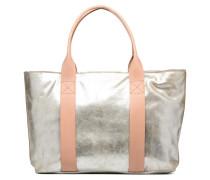 TASMIN BELLA Cabas cuir Handtaschen für Taschen in silber