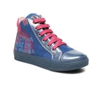 Mini Lollipop Sneaker in blau