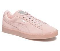 WNS Suede Mono Ref Sneaker in rosa