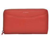 VALENTINE Portemonnaie long zippé Portemonnaies & Clutches für Taschen in rot