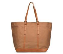Cabas sangles toile Porté épaule M+ Handtaschen für Taschen in braun