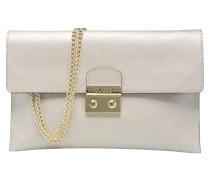 Pochette Envelope Clutch Aria Handtasche in silber