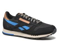 Classic Leather Utility Sneaker in blau
