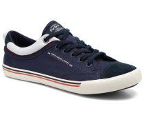 Britt Piping Sneaker in blau