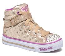 Shuffles Sweetheart Sole Sneaker in goldinbronze