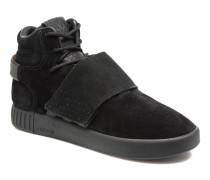 Tubular Invader Strap J Sneaker in schwarz
